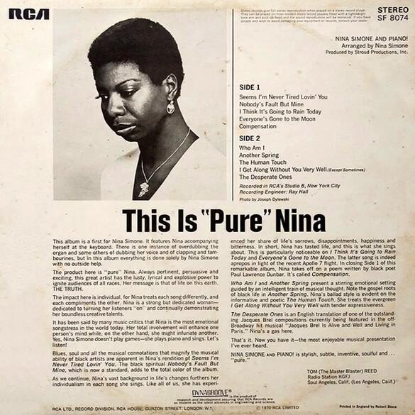 Nina Simone and Piano