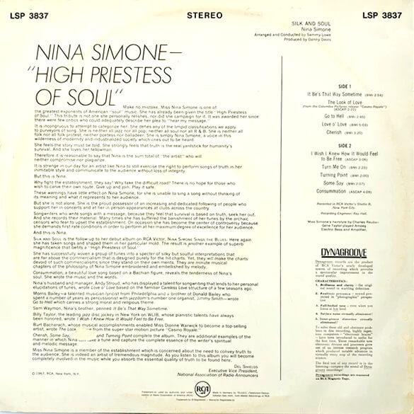 Nina Simone: Silk & Soul