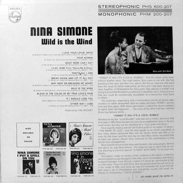 Nina Simone: Wild Is The Wind