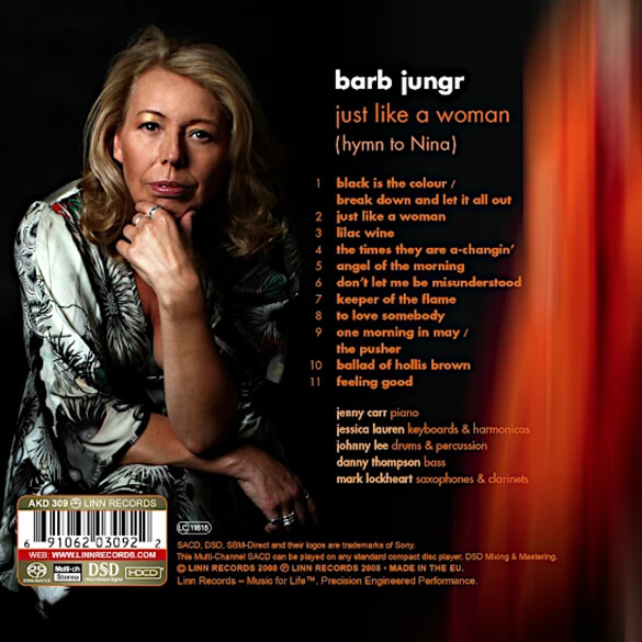Barb Jungr: Just Like A Woman