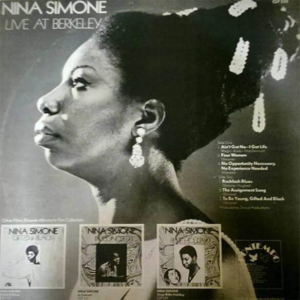 Nina Simone: Live at Berkeley