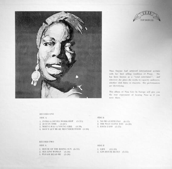 Nina Simone: Live In Europe