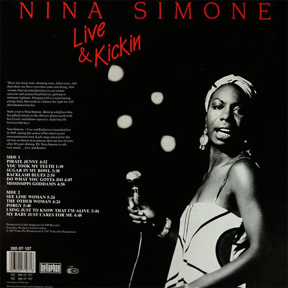 Nina Simone: Live & Kickin'