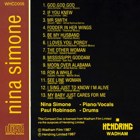 Nina Simone: Live at Ronnie Scott's