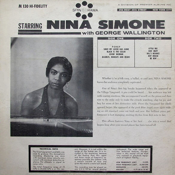Starring Nina SImone